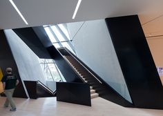 The Eli and Edythe Broad Museum of contemporary art designed by Zaha Hadid opens at Michigan State University.