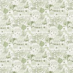 Buy Sanderson 226360 The Allotment Fabric | Potting Room Prints and Embroideries | Fashion Interiors