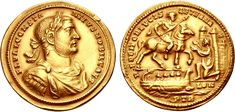 eAuction Constantius I. As Caesar, AD Plated electrotype of an AV Medallion g, After a Treveri (Trier) mint issue of AD Ancient Roman Coins, Ancient Romans, Coin Auctions, Coin Worth, Roman Art, Gold Bullion, Rare Coins, Coin Collecting, Gold Coins