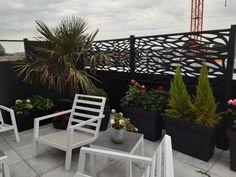 Notre terrasse Outdoor Chairs, Outdoor Furniture, Outdoor Decor, Garden Bridge, Decoration, Outdoor Structures, Home Decor, Gardens, Sign