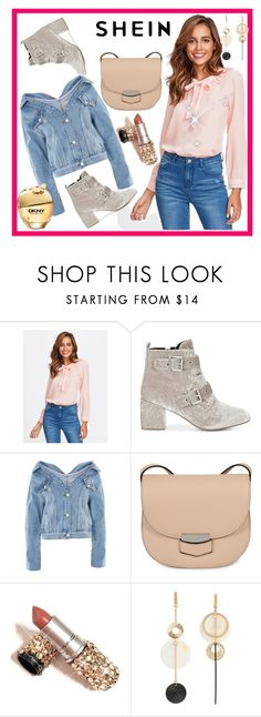 """""""SheIn"""" by elza-345 ❤ liked on Polyvore featuring Rebecca Minkoff, Topshop and CÉLINE"""