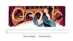 Maria Callas, considerada la cantante de ópera más eminente del siglo XX, ha sido homenajeada por Google en su «doodle» el día en el que se ...