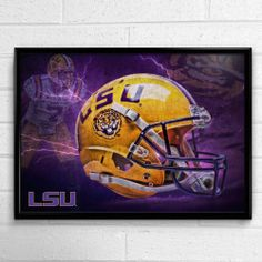 Exclusive #LSU poster featuring Patrick Peterson. #geauxtigers #poster #gift #sports #football #present #collectible