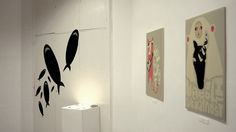Shark / Vanja Seferovic / Solo exhibition / Cultural Center Parobrod / SHONSKI art and design studio