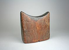 Headrest 19th–20th century  Ethiopia