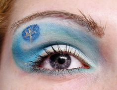 Sailor Neptun inspired make up by http://lamademoiselle-maquillage.blogspot.de/2013/03/schminkaktion-make-up-dreamz-sailor.html