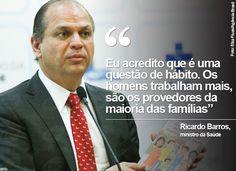 CARD: Ministro da Saúde, Ricardo Barros (1) (Foto: Card/G1) #8M