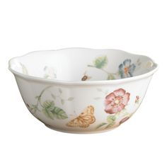 Lenox Butterfly Meadow Large 6.75-inch All Purpose Bowl - Overstock Shopping - Great Deals on Lenox Bowls