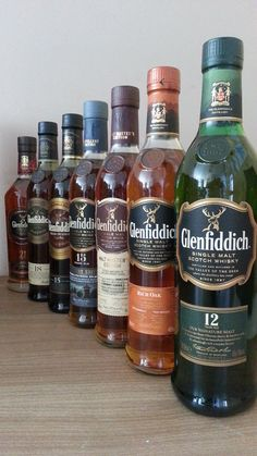 Collection Glenfiddich, 12 bottles Currently at our Catawiki auctions: Collection of 12 Glenfiddich bottles Good Whiskey, Cigars And Whiskey, Scotch Whiskey, Irish Whiskey, Whiskey Bottle, Whiskey Girl, Glenfiddich Whisky, Whiskey Brands, Strong Drinks