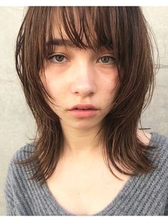 Medium Hair Styles, Natural Hair Styles, Long Hair Styles, Kawaii Hairstyles, Shot Hair Styles, Cute Haircuts, Salon Style, Asian Hair, Layered Hair