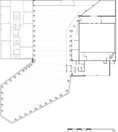 Vennesla Library and Culture House,mezzanine plan