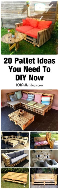 20 Pallet Ideas You Need To DIY Now | 101 Pallet Ideas