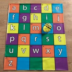 Learning ICT skills with Bee-Bot Alphabet Mat is fun. As kids play with the upper and lower case letters, they explore literacy skills in a fun programmable way. Fractions, Computational Thinking, Computer Coding, 21st Century Skills, Beginning Sounds, Pattern Matching, Programming For Kids, Literacy Skills, Learn To Code