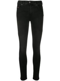 $129.0. DIESEL Jean D-Roisin Super Skinny Jeans #diesel #jean #skinnyjean #cotton #clothing Girls Skinny Jeans, Super Skinny Jeans, Skinny Fit, Pleated Pants, Denim Pants, Diesel Denim, Front Button, Black Cotton