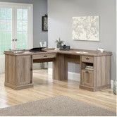 Found it at Wayfair - Barrister Lane L-Shaped Executive Desk
