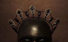 Gothic ballet tiara