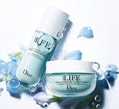 Neu erhältlich - Dior Hydra Life Reihe. Hier die Creme zusammen mit dem Sorbet Water Essence. Drei Wirkungen in einem Produkt: ultrakonzentrierte Feuchtigkeitsversorgung eines Serums, belebener Effekt einer Lotion und die Strahlkraft eines sanften Peelings