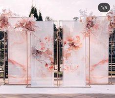 Wedding Backdrop Design, Wedding Reception Backdrop, Wedding Stage, Wedding Ceremony, Backdrop Decorations, Ceremony Decorations, Backdrops, Wedding Cards, Diy Wedding