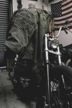 harley-davidson jacket for the baddest on your list #HarleyPartner