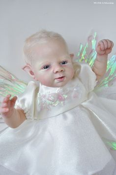 Melissa George Reborn Baby Fairy Prototype Twinkle by Shawna Clymer