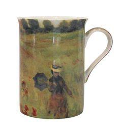 Stechcol - Monet 'Poppies at Argenteuil' Mug Set 2