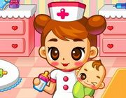 You work in the maternity ward. Take good care of th… Baby Hospital Browser Game. You work in the maternity ward. Take good care of the little newborns.