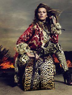 Roberto Cavalli Fall 2010 Campaign | Gisele Bundchen by Mert & Marcus
