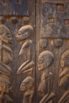 Until today the Dogon depict some curious cravings in their crafts.