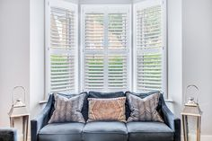 We recently had the pleasure of speaking with Kate about her Victorian Terrace home in Earlsfield which she shares with husband Francis and their three daughters. Since moving in, the couple have transformed their home as they felt it was very old fashioned and tired before their renovation work.   Our shutters are the perfect addition to this beautiful living room. #plantationshuttersltd