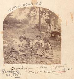 Iroquois (Onondaga) children - no date