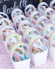 Oh if only I was #crafty !! How gorgeous are these Rainbow Unicorn Treat Bags?! . PC: craftinessisnotoptional . _______________________________________________________ . #rainbow #unicorn #partybag #diy #craft #craftiness #treatbag #partytheme #partyideas #partyinspo #flashesofdelight #firstbirthday #christening #littlegirls #designerkids #kidsofinstagram #instakids #kidsstyle #kidsfashion #events #eventplanner #styling #instashop #onlinesale #moms #mums #colour #happydays #littlebooteekau