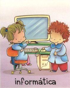 asamblea niños dibujo - Buscar con Google Sixth Grade, Cartoon Kids, Classroom Decor, Smurfs, Kindergarten, Homeschool, Clip Art, Album, Creative