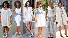 Branco - Um poderoso instrumento de comunicação através das roupas: a cor. Veja significados;