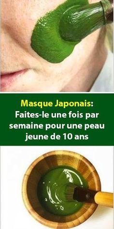 Queen of Beauty by zouzou: Masque Japonais: Faites-le une fois par semaine po. Diy Beauty, Beauty Skin, Health And Beauty, Beauty Hacks, Make Up Brush, Vaseline For Hair, Mascara Hacks, Japanese Mask, Skin Care Remedies