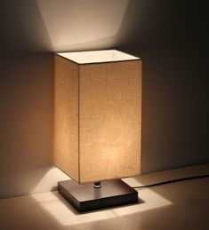 Minimalist Solid Wood Table Lamp Bedside Desk Lamp - - Amazon.com