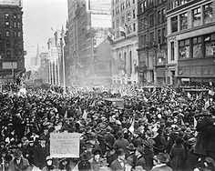 Vintage 1918, Celebrating the end of WWI, NYC, www.RevWill.com