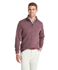 Shop Herringbone Pullover at vineyard vines Knit Fashion, Mens Fashion, Half Zip Pullover, Sleek Look, Winter Wardrobe, Vineyard Vines, Herringbone, Men Sweater, Stylish