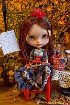 Autumn Song. Boho Maxi Dress With Crocheted by SugarMountainArt