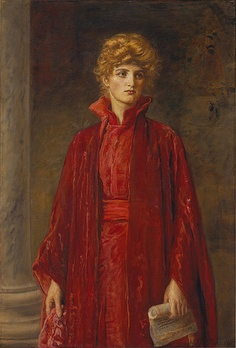 Portia - Sir John Everett Millais c. 1886