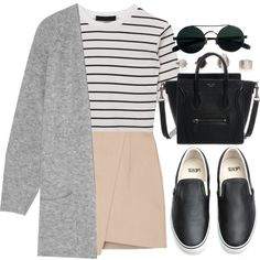 Sin título #12397 by vany-alvarado on Polyvore featuring moda, By Malene Birger and Vans