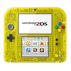Nintendo 2DS Pokemon Pikachu Edition  http://www.bestdealstoys.com/nintendo-2ds-pokemon-pikachu-edition/