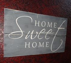 Home Sweet Home~by CherryCreekCrafts on Etsy