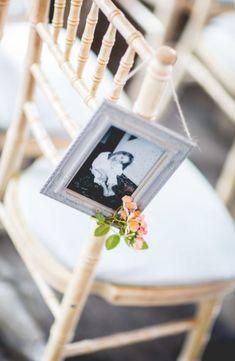Wedding aisle decoration photo frame