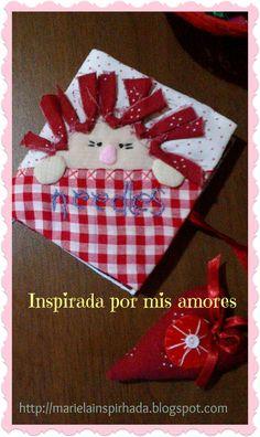 Inspirada por mis amores: MI LIBRO GUARDA-AGUJAS