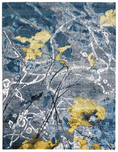 Modern Bold Abstract Rugs Gallery: Poise, Modern Abstract Rug, Hand-knotted in India; size: 9 feet 2 inch(es) x 12 feet 1 inch(es)