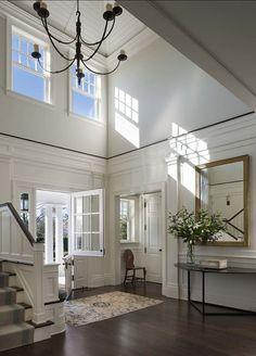 Dutch Door Foyer.: