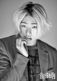 """Block B's Zico graces the cover of """"The Celebrity"""" for its September 2015 issue"""