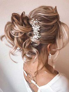 Bridal Hair Vine, Hair Comb Wedding, Wedding Hair Pieces, Wedding Bride, Wedding Veils, Wedding Ceremony, Dream Wedding, Low Bun Hairstyles, Bride Hairstyles