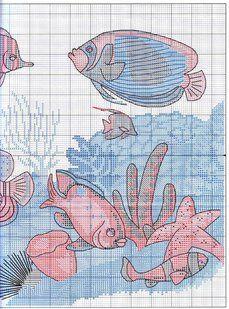 Solo Patrones Punto Cruz 5/6 Mysteries of the Deep