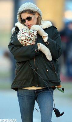 Gisele Bündchen with little Vivian
